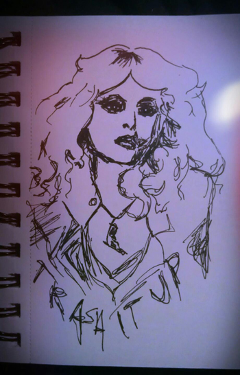 nancy spungen by veronica pain