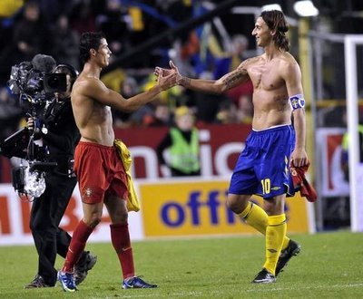 Cristiano v Zlatan: The European World Cup play off draw pits 2 of the worlds best players against each other