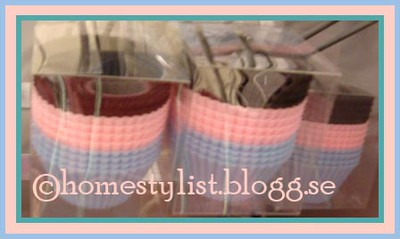 Cup cake-formar. Copyright homestylist.blogg.se