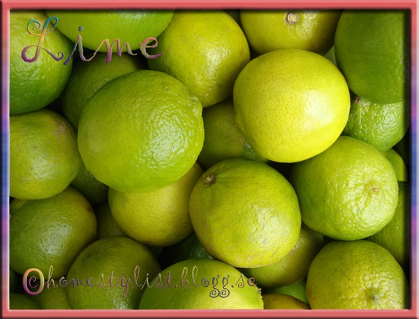 Lime. Copyright homestylist.blogg.se