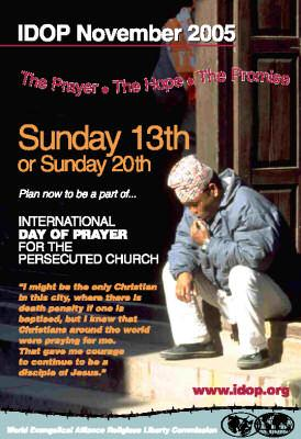 IDOP About the Persecuted Church
