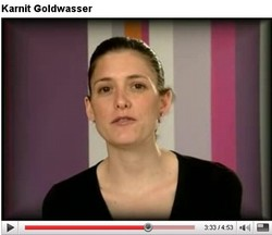 Karnit Goldwasser October 2007 YouTube