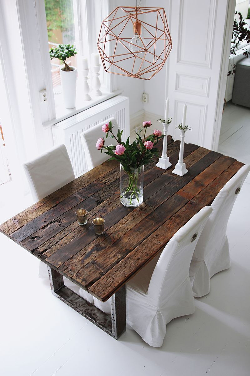 Rustic table | Bykiki.se | Bloglovin'