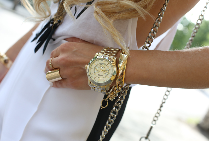 omgville omg style frenzy  bedazzled wrist