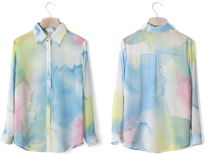 How To Tie Dye A Blouse 115