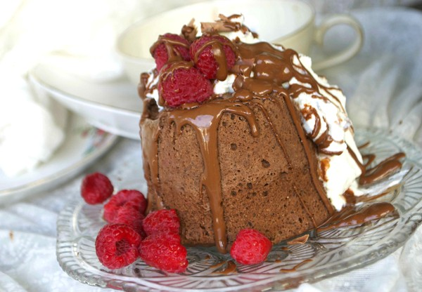 Banana chocolate mug cake