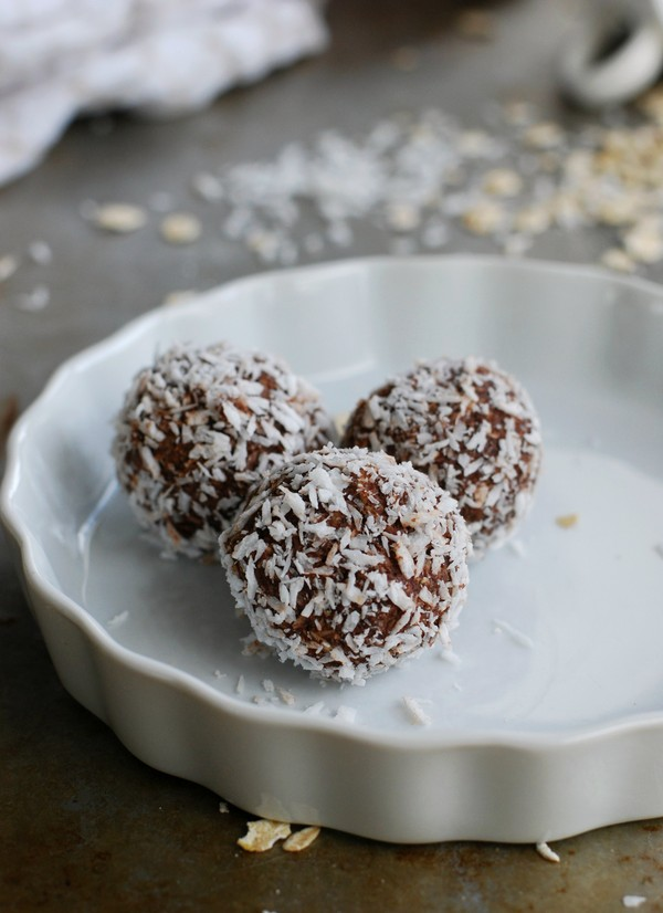 Chocolate balls, no added sugar - Chokladbollar, utan tillsatt socker