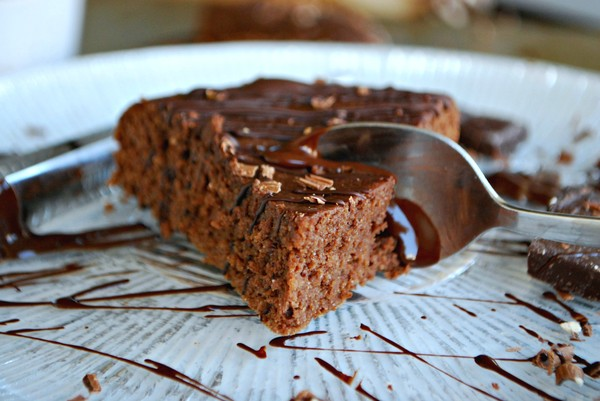 Healthy chocolate cake - mejerifri