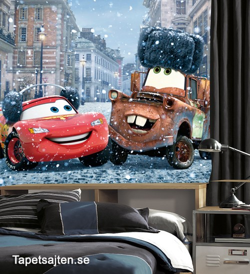 tapet disney bilar cars barnrum barntapet kille killrum pojktapet killtapet pojkrum fototapet 3d