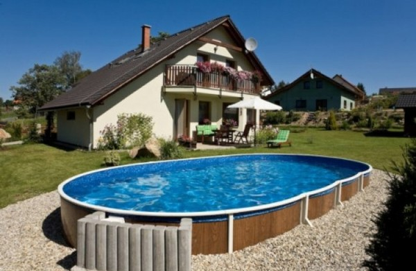 Billig Pool Ovan Mark Ovanmarkspool Billig Ovanmarkspool Oval Deluxe