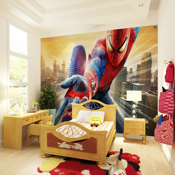 Fototapet Spiderman Tapet Pojkrum