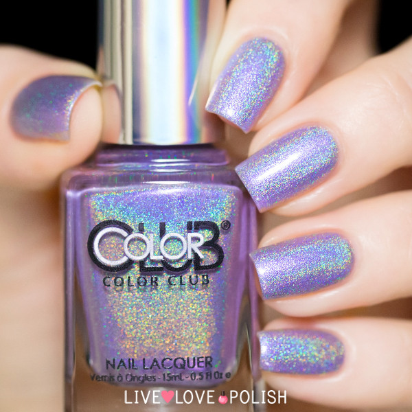 Color Club Holographic Nail Polish Swatches: February 2016
