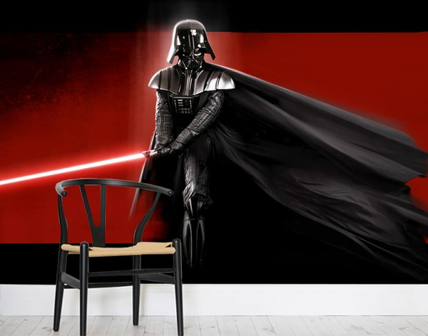 Star Wars Tapet Fototapet Tapeter Darth Vader