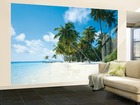 tropical-palms-huge-wall-mural-poster-print