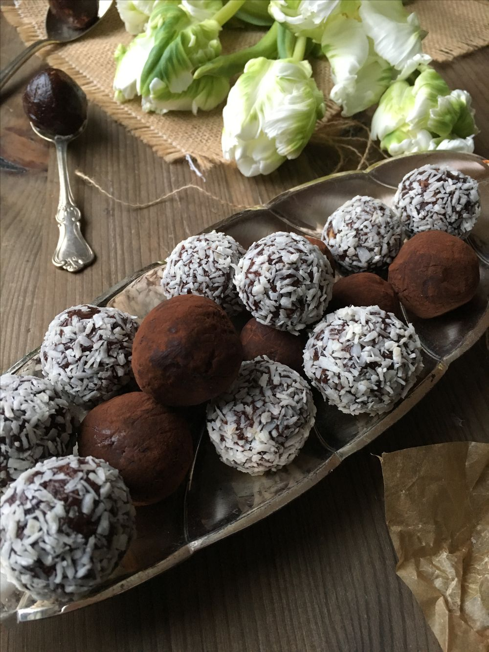 Raw food chokladbollar