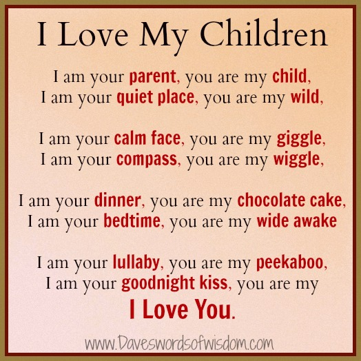 I Love You My Son Poem I Love My Children Poems My Honey To my son, i love you so, you are so special, i hope you know. my son poem i love my children poems