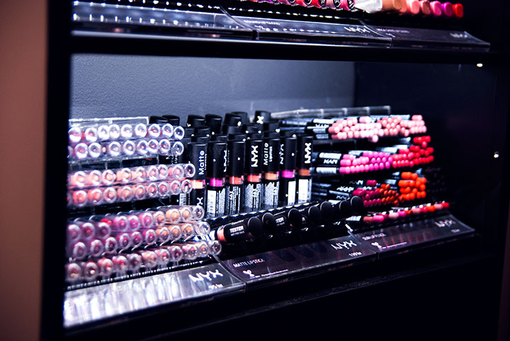 nyx, nyx cosmetics, butik, store, gallerian, stockholm, smink, make up, event, bloggare, veckorevyn