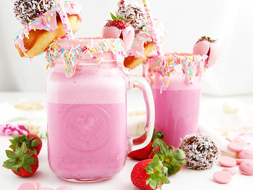 Strawberry freakshake!
