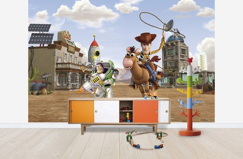 3d tapet barn toy story