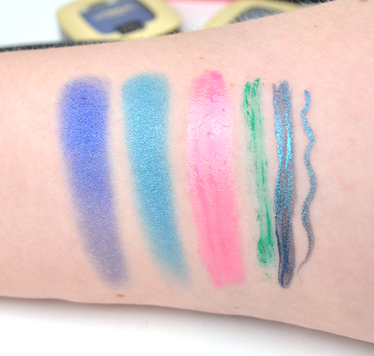 aquatic look summer 2015 sommar swatches loreal
