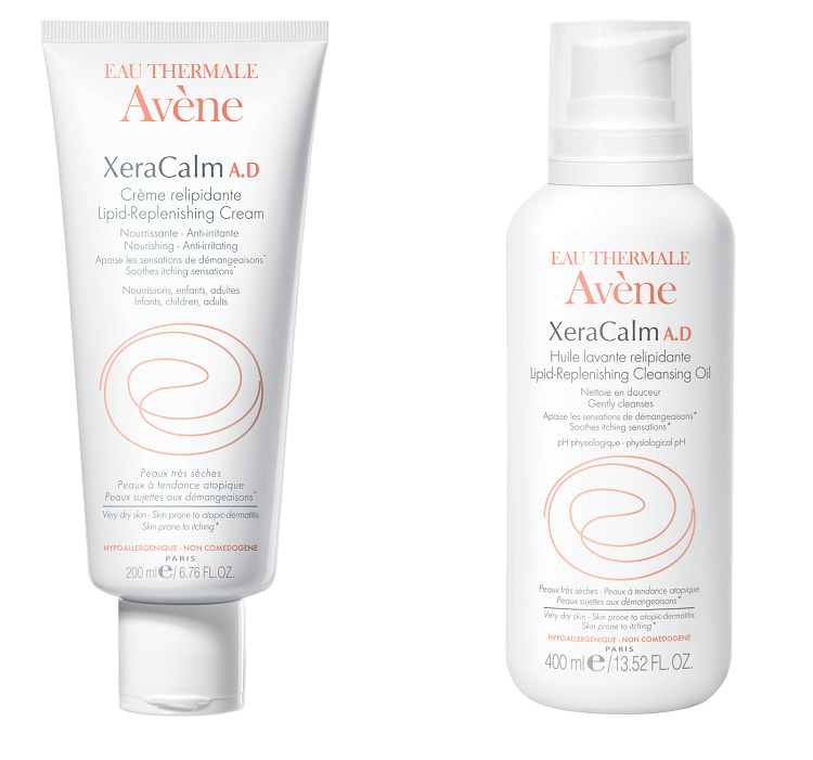 avene xeracalm cleansing oil cream
