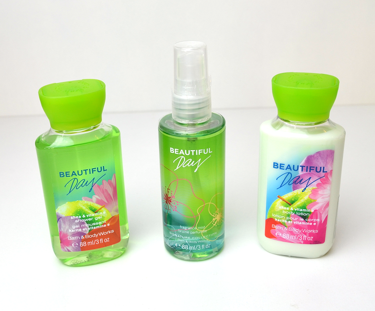 beautiful day body lotion fragrance mist shower gel sverige arlanda