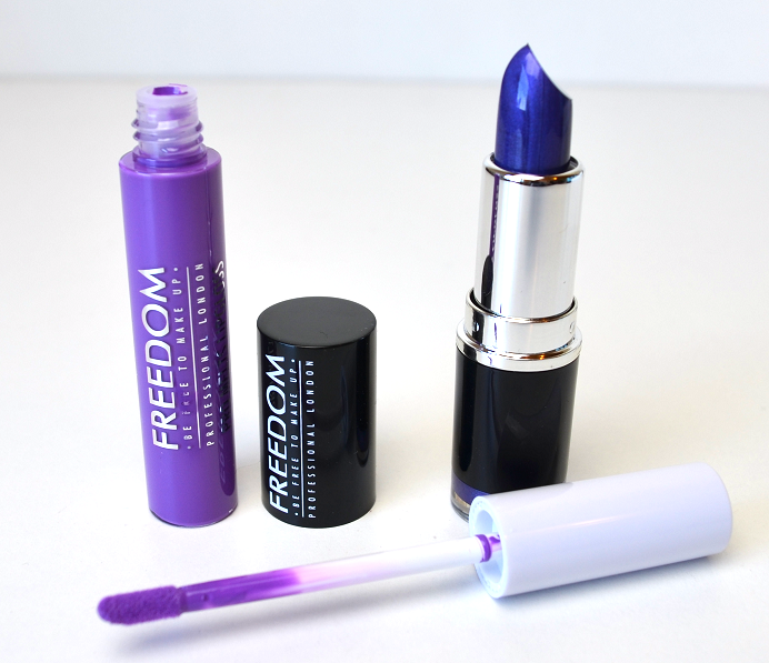 freedom makeup revolution haul review swatches pro melt lipstick