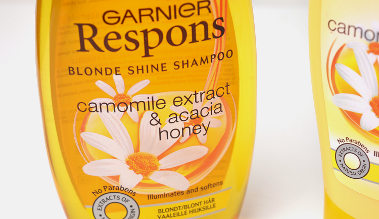 garnier respons blond shine camomile extract acacia honey2