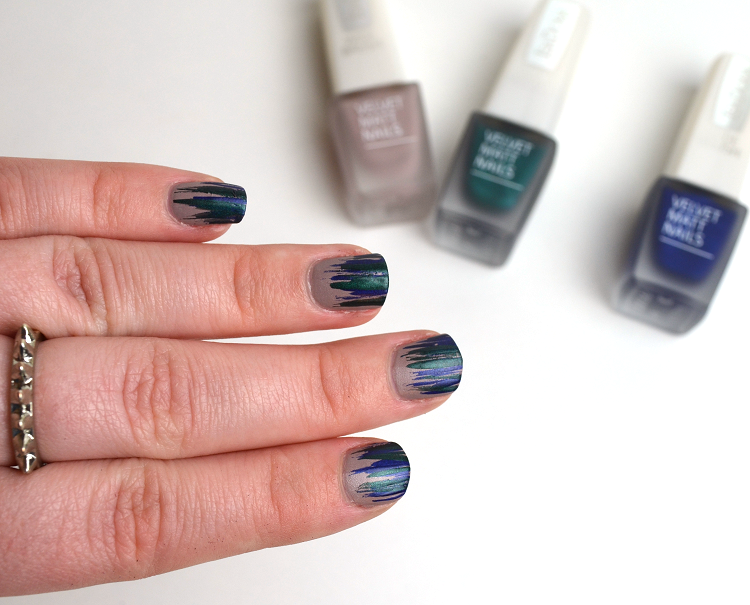 isadora velvet matt nails 2015 soft skin green planet moody blues3