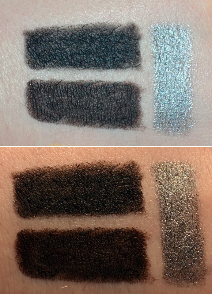 the body shop eye definer black brown smoky steel swatches.png