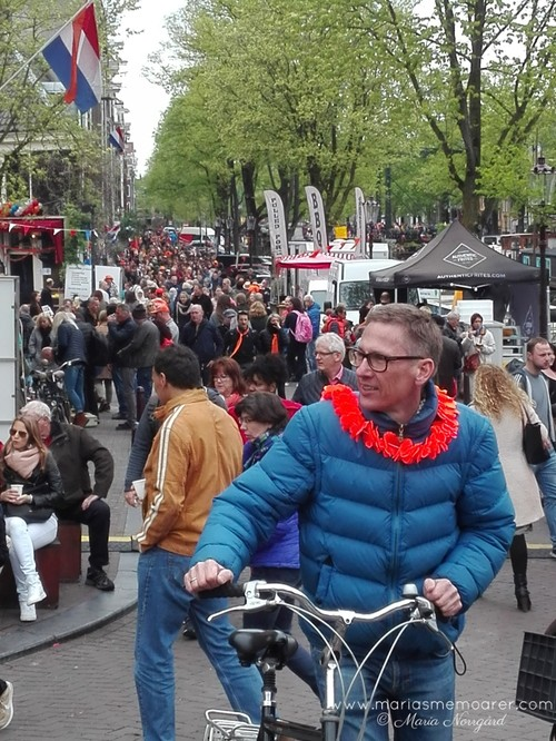 King's Day / Koningsdag in Amsterdam 2018