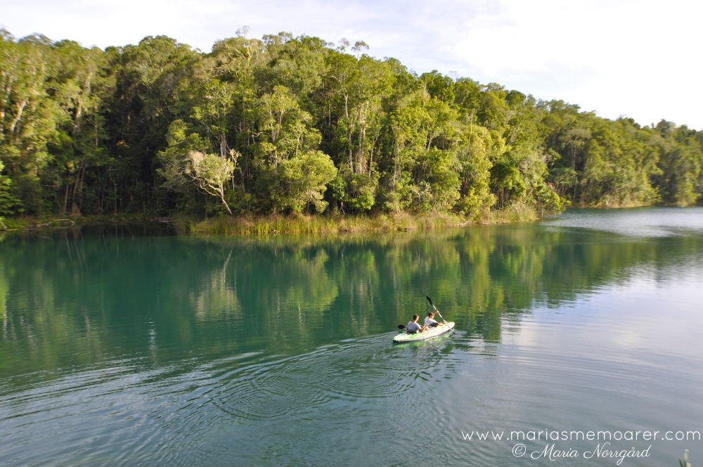 places to swim in Atherton Tablelands / badvänliga platser i Queensland - Lake Eacham