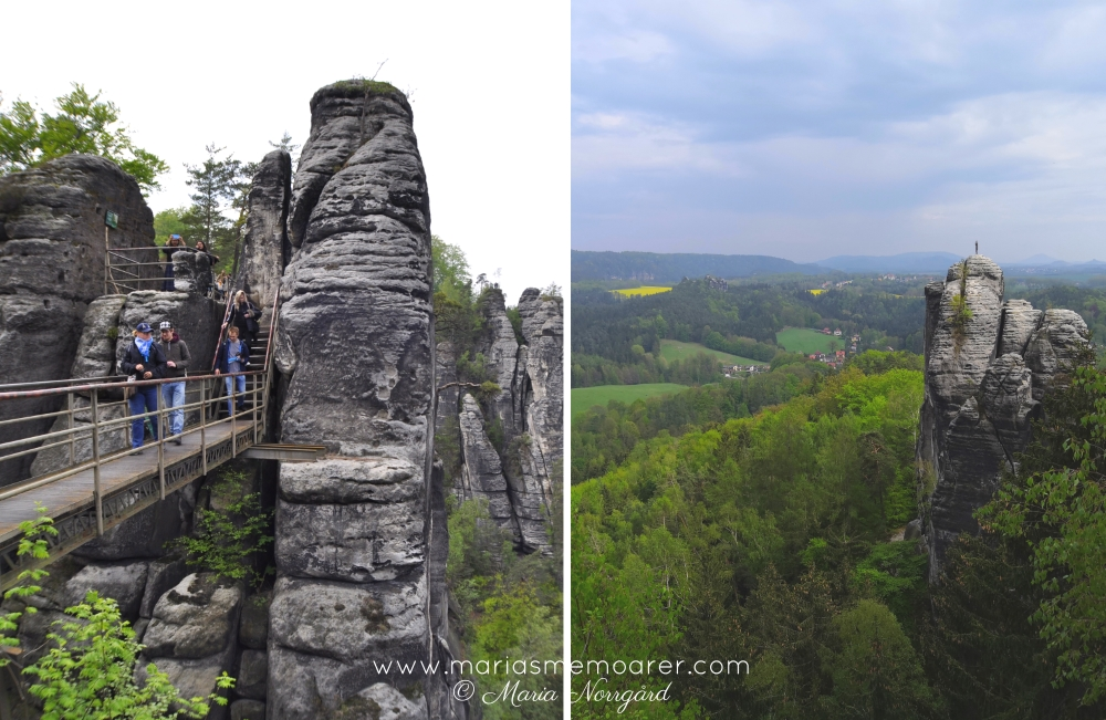 Saxon Switzerland, Germany - Bastei tourist attraction