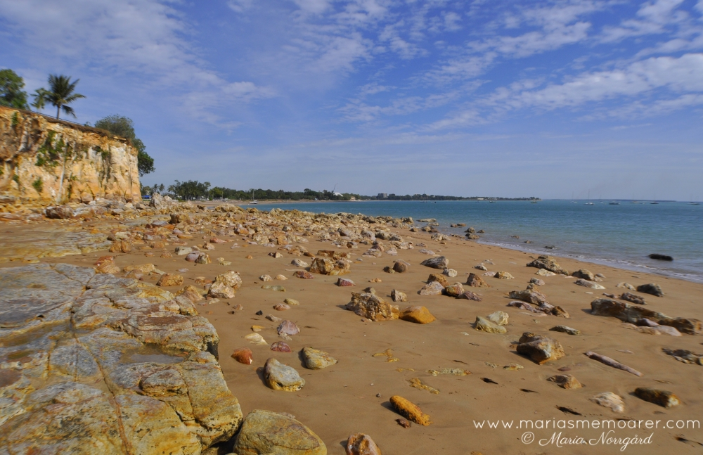 nature in Northern Territory, Australia - Fannie Bay and Timor Sea in Darwin