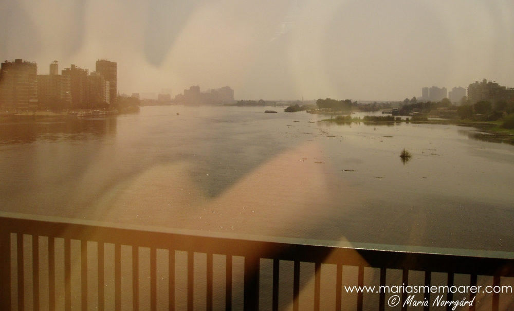 The Nile river in Cairo, Egypt / Nilfloden i Kairo, Egypten