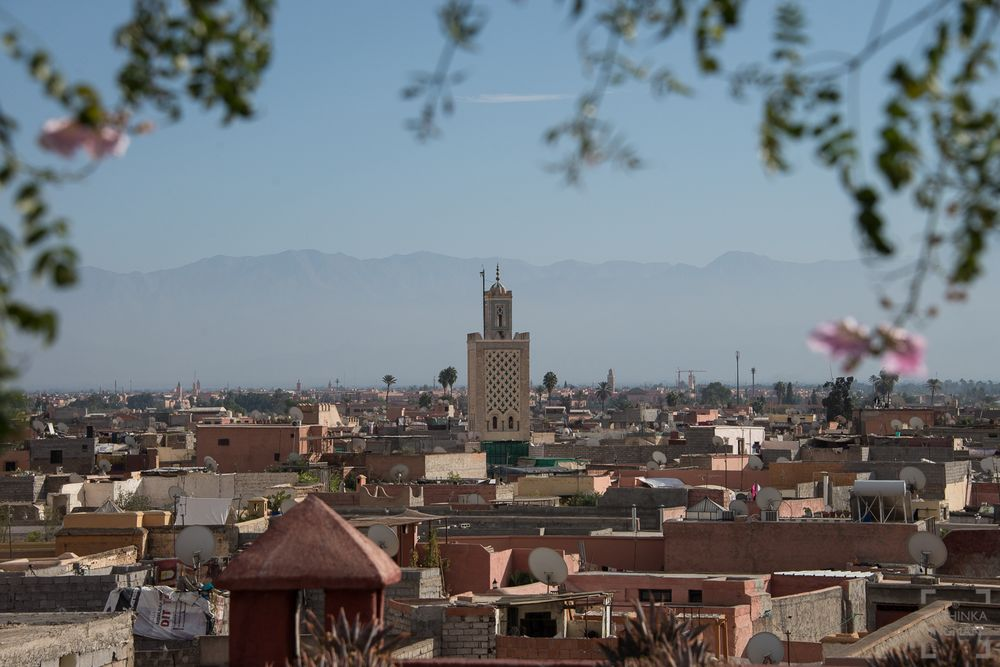 Marrakech och Atlasbergen, Marocko / Marrakech and Atlas mountains, Morocco