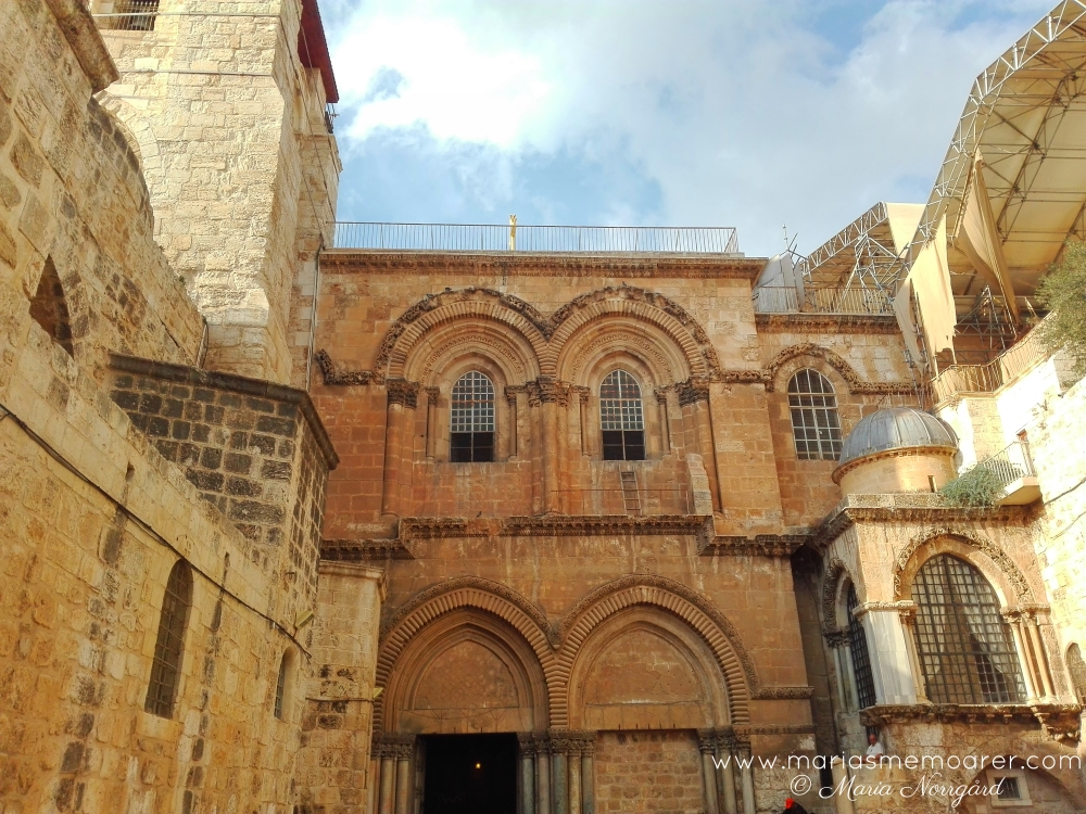 travel photo challenge religion - church of the holy sepulchre, jerusalem