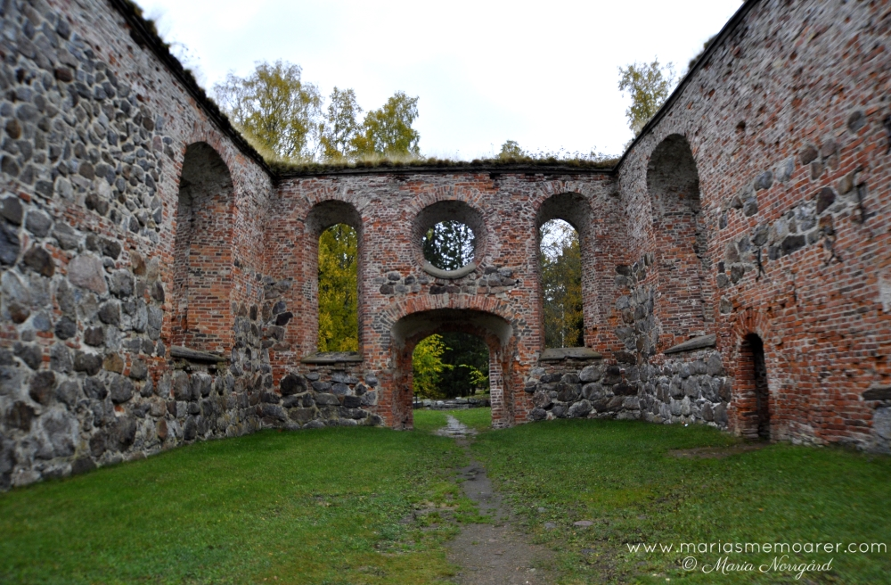 Visit Vaasa - Old Vaasa, St Mary's Church ruins