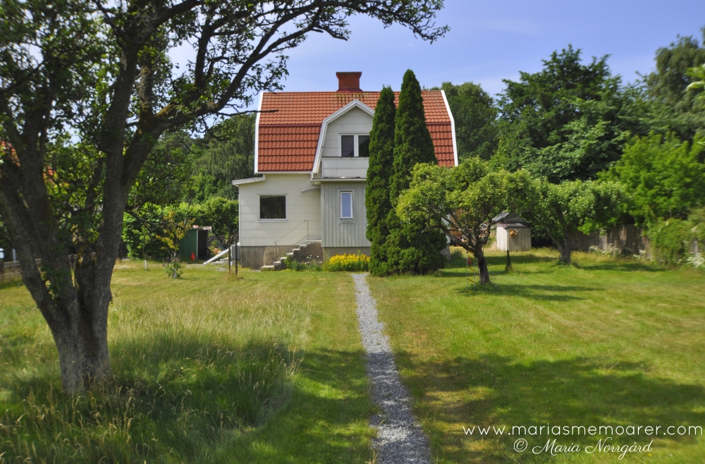 sightseeing in Gothenburg - pretty houses on Styrsö island