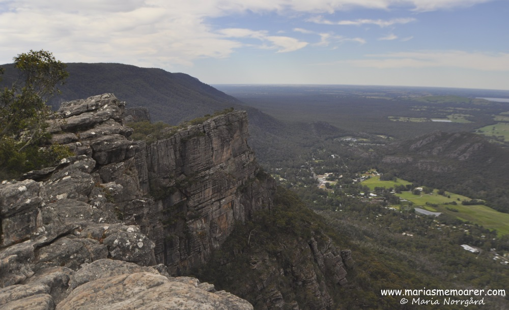 The Pinnacle in Grampians National Park, Victoria, Australia