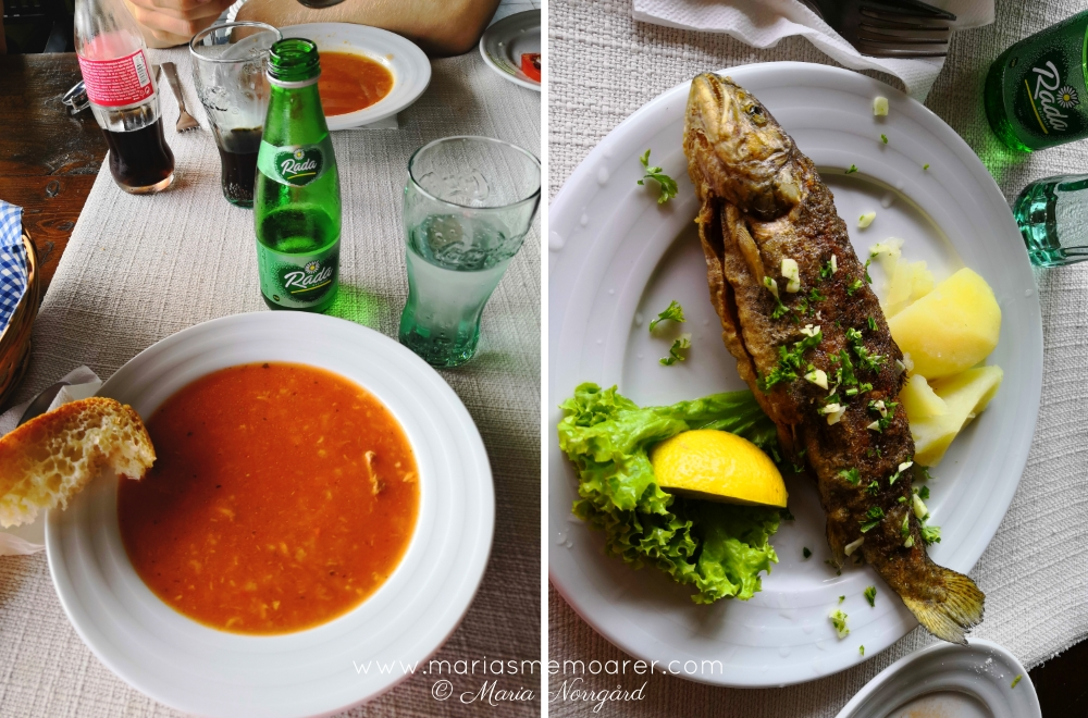 food near crnojevic river