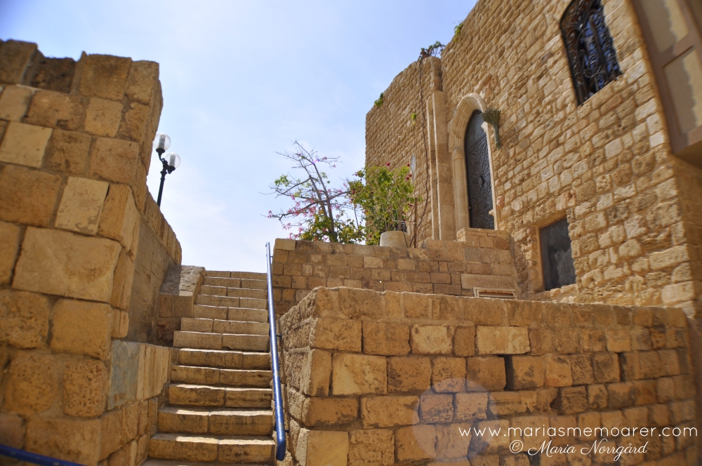 Architecture in Old Jaffa, Israel