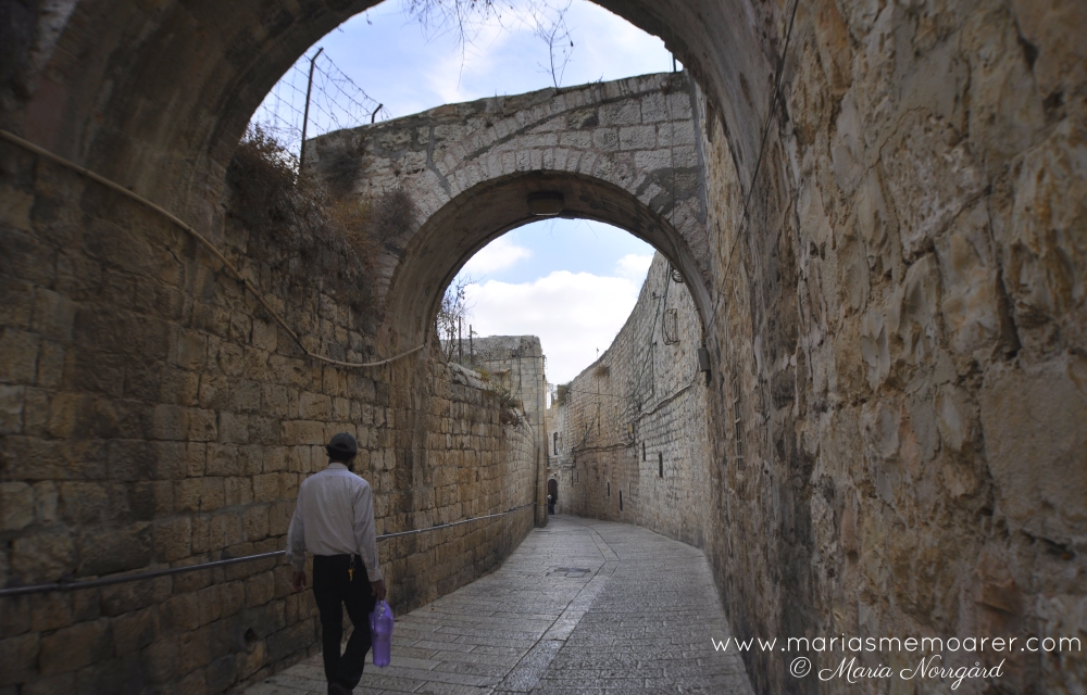 Jerusalem old city, jewish area