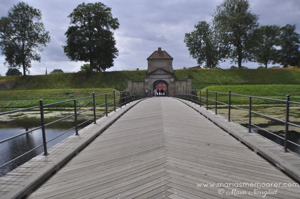 The Citadel in Copenhagen - one of the best preserved fortresses in Northern Europe