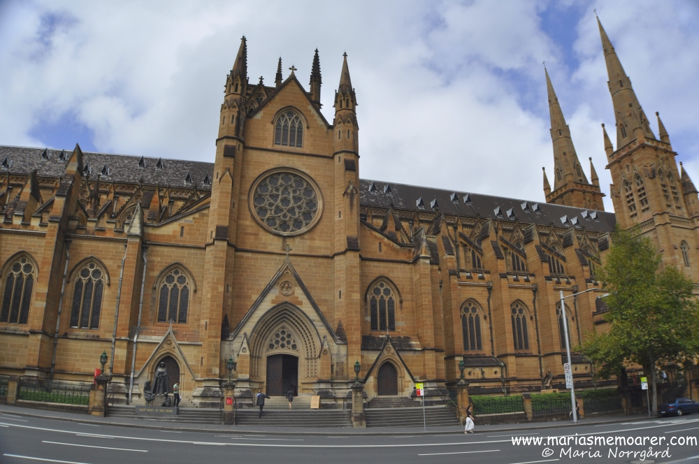 churches in the world - St Marys cathedral in Sydney, Australia