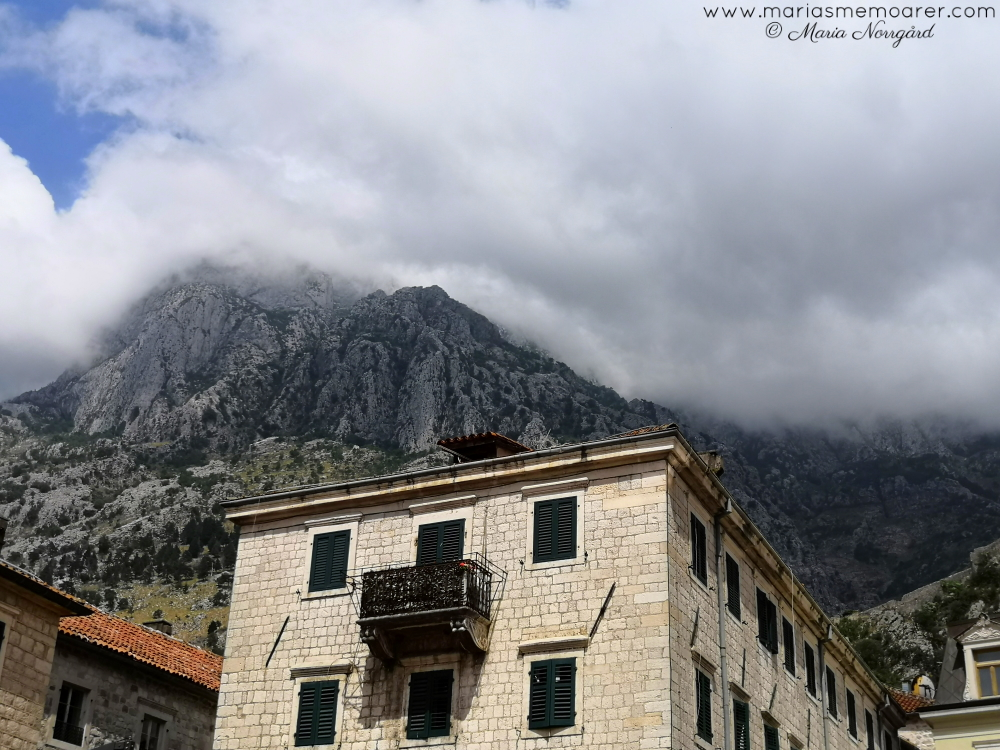 photo challenge clouds - Montenegro travel photography