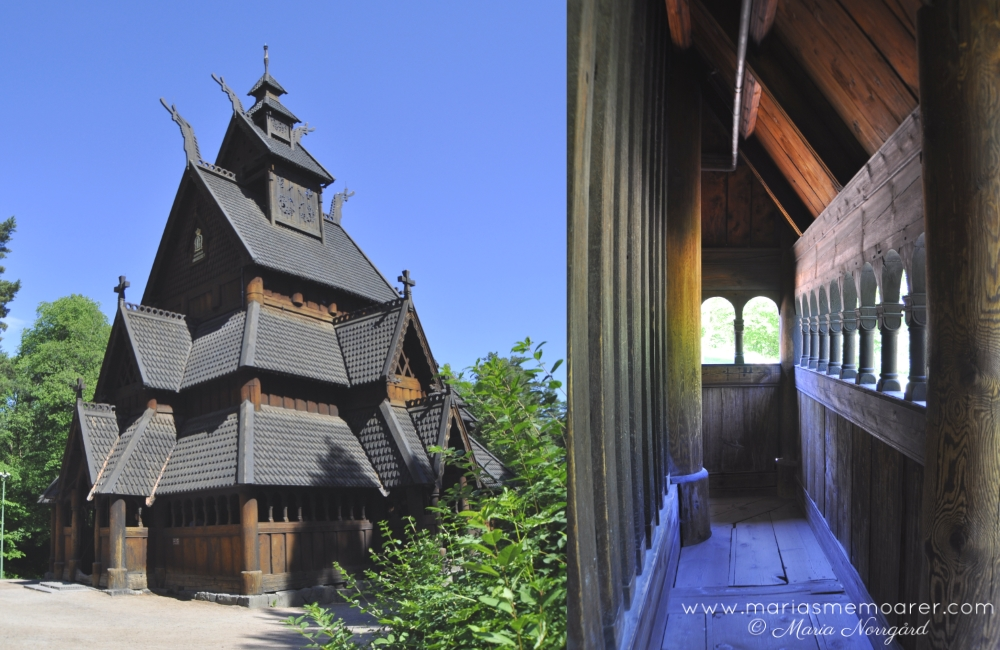 museums in Oslo - Norwegian Museum of Cultural History - stave church