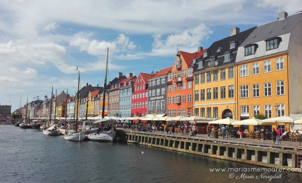 things to see in Copenhagen - colourful Nyhavn