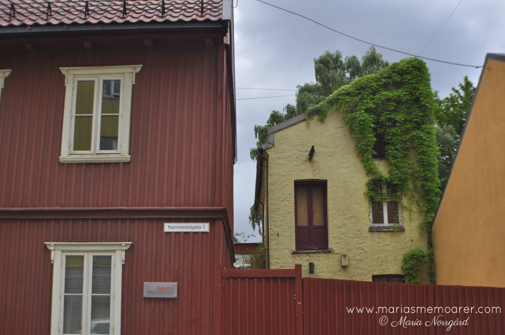 oslo places to visit - Kampen wooden houses neighbourhood