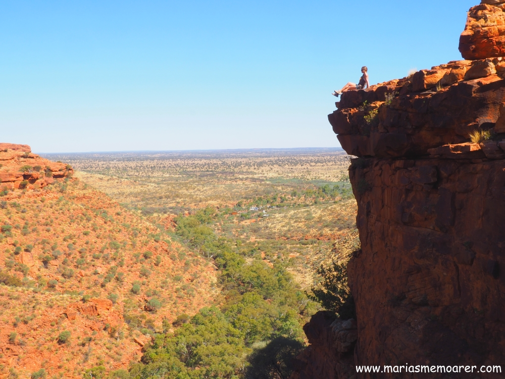 Kings Canyon in the Red Centre, Northern Territory, Australia / Australien